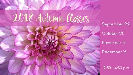 Autumn Class Dates