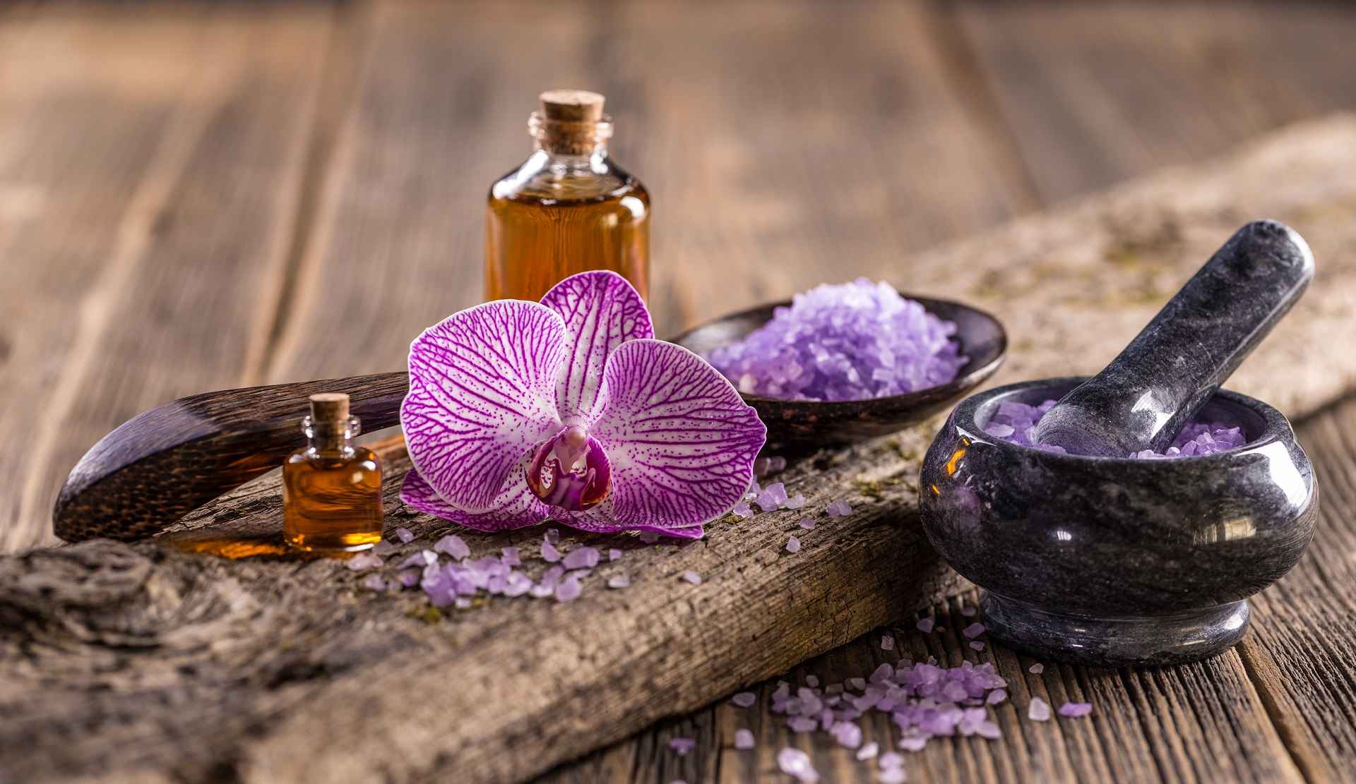 Stress Reduction with Essential Oils